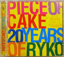 """""""PIECE OF CAKE 20 YEARS OF RYKO"""" cd promo FRANK ZAPPA ROBERT WYATT MORPHINE"""