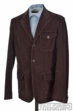 BEYMEN by CORNELIANI Maroon Cotton Blazer Sport Coat Jacket - EU 50 / US 40 R