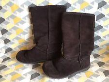 Rocketdog Brown Suede Boots Size 3