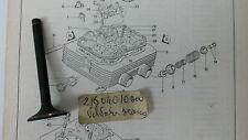 Valvola Scarico  MV AGUSTA 350 Ipotesi art 21604010000
