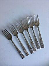 Fork Melon Christofle Spatours Monogram 21.5 Cm Correct Silvered Metal Antiques