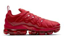 Nike Men's Air VaporMax Plus Running Shoe, CW6973 600, Triple Red