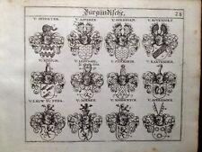 Wapenschild 1667 van Rossum Asperen Leefdael Leeuw Stockheim