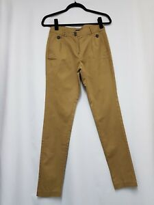Womens Trousers Size EUR 34 Mango Camel Trousers  Womens straight Trousers - A15