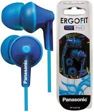 Panasonic rp-hje125e-a bleu Ergo Fit In-Ear casque puissant son / TOUT NOUVEAU