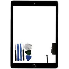 Pour iPad 5 Gen A1822 A1823 écran Tactile Numériseur Verre Bouton Home Noir + Outil