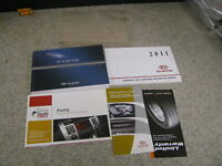 2011 11 KIA FORTE OWNER'S MANUAL SET BOOK - FAST FREE SHIPPING-OM174