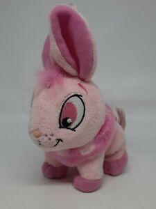 Neopets Pink Cybunny Plush Toy Stuffed Animal (Jakks Pacific 2008) No Code