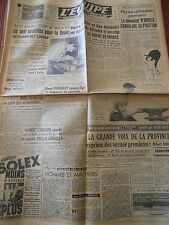 JOURNAL L'EQUIPE RUGBY 1948