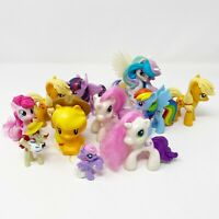 My Little Pony G4 Variety Lot McDonalds Toys Plastic Ponies Horses