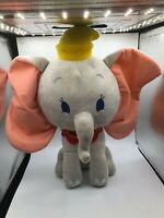 Large Dumbo The Elephant Disney Grey Plush Kids Soft Stuffed Toy Animal Doll