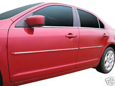 For: FORD FUSION Painted Body Side Mouldings With Chrome Insert Trim 2006-2012