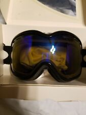 New OAKLEY Stockholm POLARIZED Snow Goggles Womens Jet black/H.I. amber