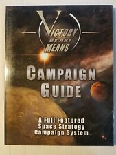 Victory By Any Means Game Rules Campaign Guide 1st Edit SC Space Strategy