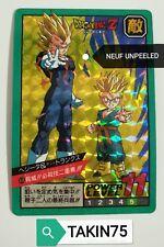 CARTE DRAGON BALL Z SUPER BATTLE POWER LEVEL 408 PRISM UNPEELED JAPAN DBZ DB