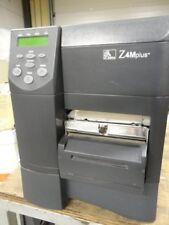 Zebra Z4M Plus Thermal Printer + Cutter