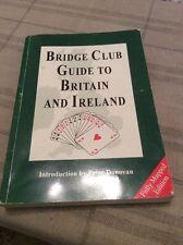 Bridge Club Guide to Britain and Ireland, Edmondson, Ruth Paperback Book The