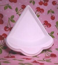 Individual Pie Serving Dish (KR2) Ceramic Bisque Ready to Paint