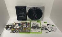 DJ Hero 1 & 2 + Turntable Complete Bundle Microsoft Xbox 360 Game Tested Working