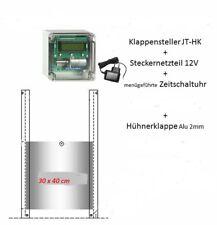elektronischer Pförtner durch Dämmerung und Zeitschaltuhr für Geflügelklappen