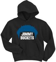 """Jimmy Butler Minnesota Timberwolves """"Buckets Hair"""" Hoodie HOODED SWEATSHIRT"""