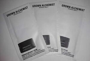 3 - Grown Alchemist REGENERATING NIGHT CREAM neuro-peptide sample size 2mL each