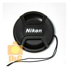 New Nikon 52mm Snap-On Lens Cap + Rope / Front Lens Cap