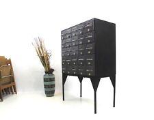 Metall Industriedesign Apothekenschrank/Schubladenschrank/Sideboard /Karteikarte