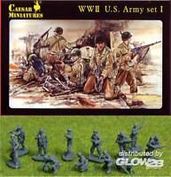 César 40US Soldados U. S. Ejército Lanzallamas 1:72 Model-Bausatz Kit Nuevo