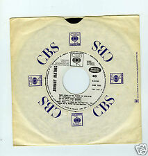 45 RPM SP PROMO JOHNNY MATHIS THEY LONG TO BE CLOSE TO YOU