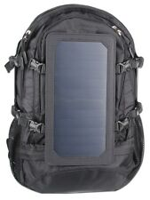 Solar Powered Backpack with Waterproof Power Bank 15,000mAh