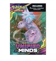 ⚡️Pokemon Sun And Moon Unified Minds Hanger Box Booster Packs SEALED - 3 packs⚡️