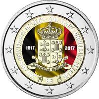 Belgien 2 Euro 2017 stgl 200 Jahre Universität Lüttich Münze in Farbe