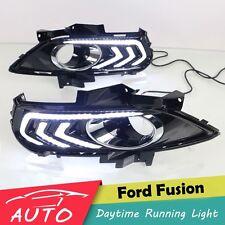 NEW DRL FOR FORD FUSION MONDEO 2013 2014 2015 LED DAYTIME RUNNING LIGHT FOG LAMP