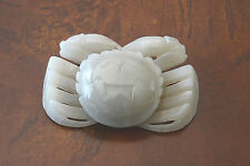 Nice  Hand  Carved  Chinese  Jade  Crab   2