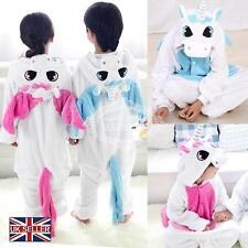Enfants Pyjama Licorne Flanelle Cosplay Animal Déguisement Fille Garçon