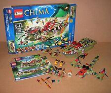 70006 LEGO Cragger's Command Ship 100% Complete box & Instructions EX COND 2013