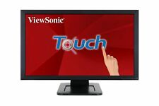 "ViewSonic 24"" 1080p Dual-Point Optical Touch Screen Monitor HDMI Model TD2421"