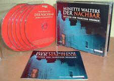MINETTE WALTERS  -  Der Nachbar  (Krimi )  (6 CD's)