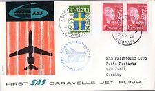 B0175- 1er  LIAISON AERIENNE   STOCKHOLM   STUTTGART    SAS