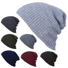 New Fashion Unisex Men Women Wool Warm Knitted Beanie Hat Cap Chic Style Gift