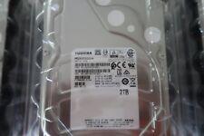 """*New* Toshiba MG04ACA200N 128mb 6GB/s 2.0TB 3.5"""" Sata III 512n (Native) 0 hours"""