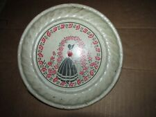 """Vintage Stovepipe Chimney Southern Belle Woman In Dress 8"""" Diameter"""