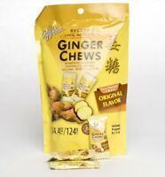 Prince of Peace Ginger Candy - 9 pcs - Nine Individual Ginger Candy Chews Pieces