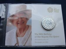 GREAT BRITAIN £20 - SILVER COIN - 2016 THE QUEENS 90th BIRTHDAY