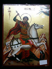 Holy Great Martyr George the Trophy-Bearer Hand Painted Icon 20x26cm