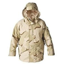 NEW US MILITARY PARKA, COLD WEATHER, DESERT CAMOUFLAGE, SMALL LONG