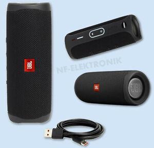 JBL Flip 5 Bluetooth-Lautsprecher Mini Soundbox Wasserdicht Wireless schwarz