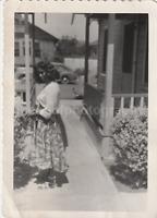 GORGEOUS GIRL Found Photograph bw FREE SHIPPING Original Snapshot VINTAGE 81 3