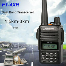 YAESU FT-4XR Dual Band Transceiver UHF VHF Radio Walkie Talkie Outdoor Use